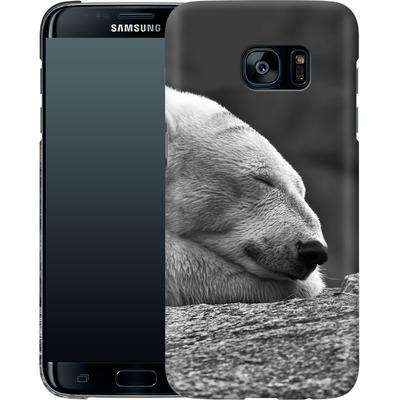 Samsung Galaxy S7 Edge Smartphone Huelle - Polar Bear von caseable Designs