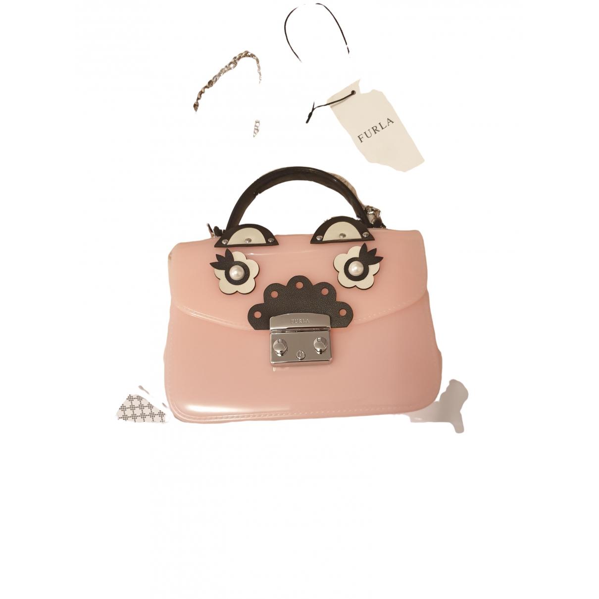 Furla Metropolis Pink handbag for Women \N