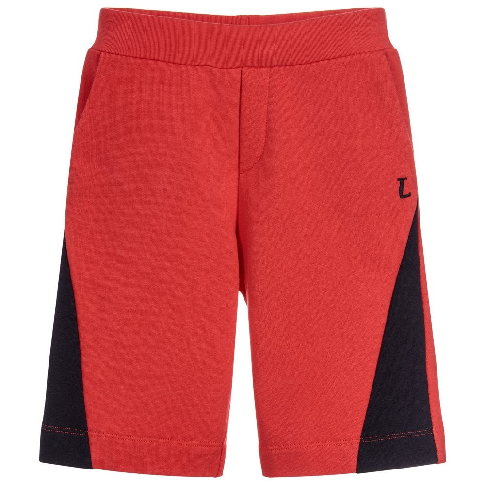 Lanvin Kids Shorts Colour: RED, Size: 10 YEARS
