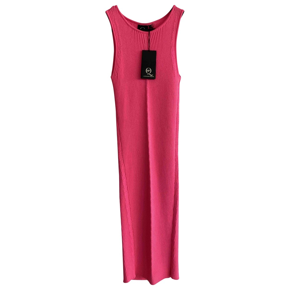 Mcq \N Kleid in  Rosa Polyester