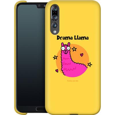 Huawei P20 Pro Smartphone Huelle - Drama Lama von Flossy and Jim