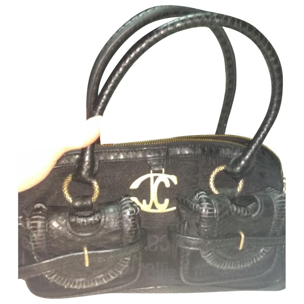 Just Cavalli \N Black Cloth handbag for Women \N