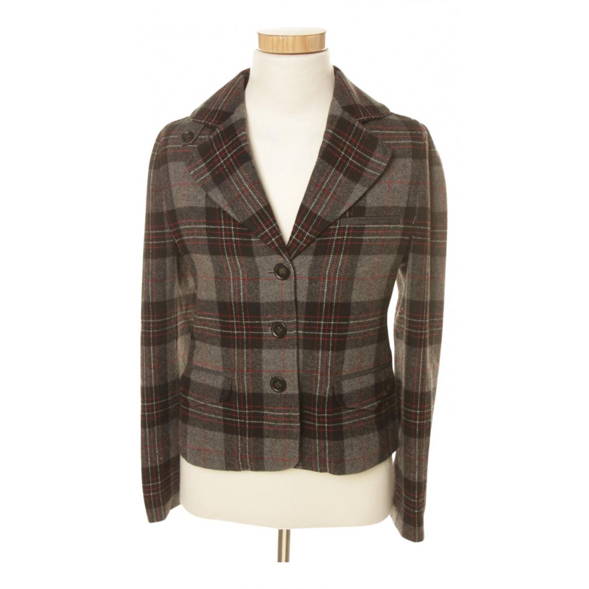 Armani Jean - Veste   pour femme en laine - marron