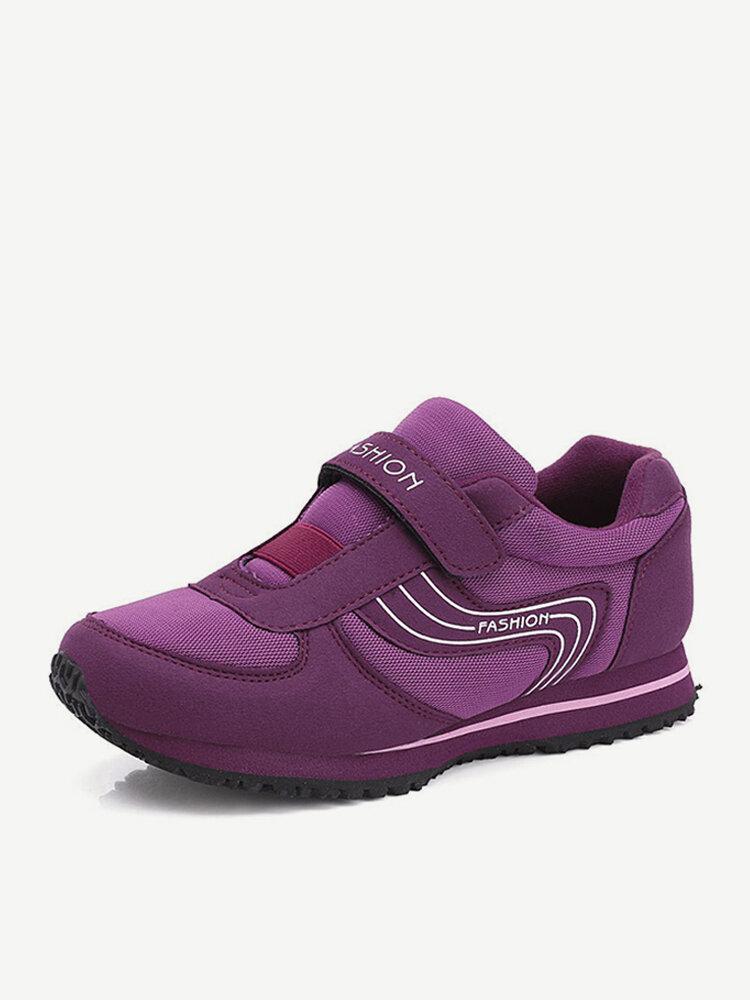 Breathable Hook Loop Casual Shoes