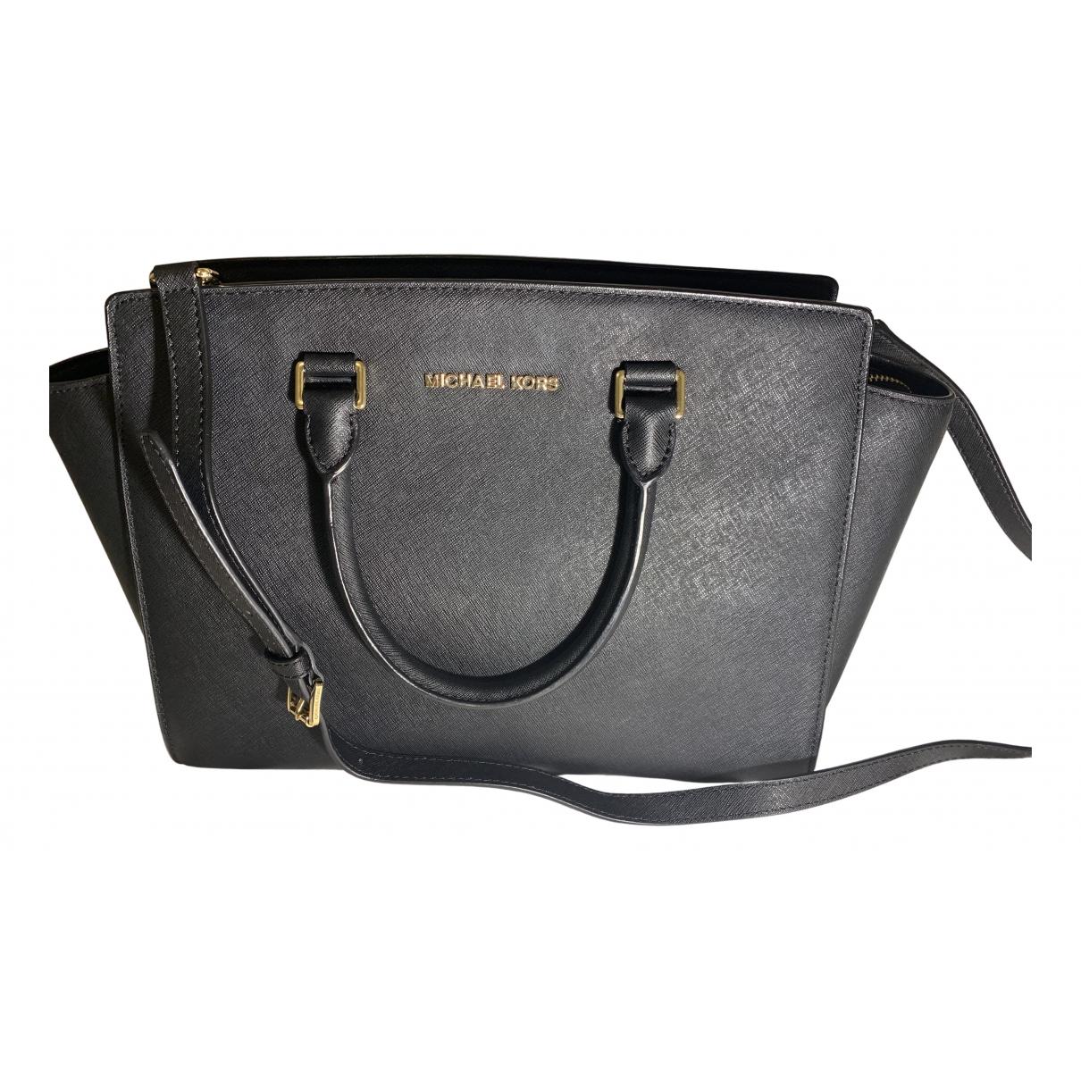 Michael Kors Selma Black handbag for Women N
