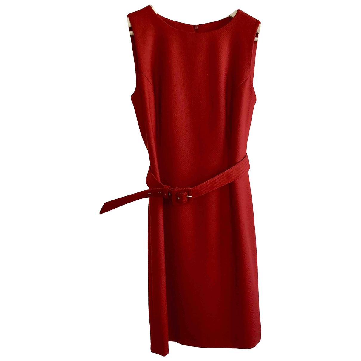 Windsor \N Kleid in  Rot Wolle