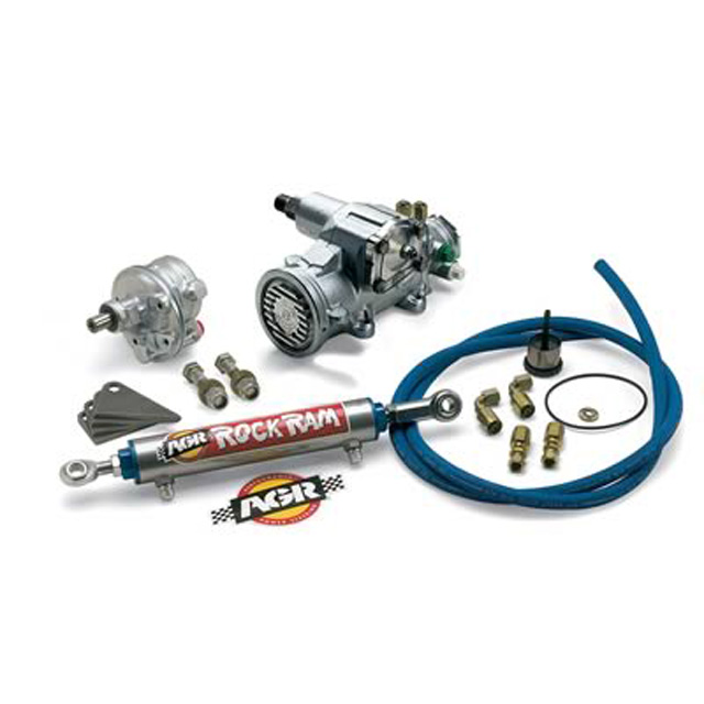 Jeep Rock Ram Steering System with Super Thrust Pump 87-90 Jeep Wrangler YJ AGR Steering 376351K07T