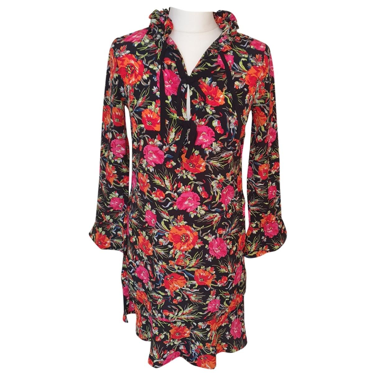 Sandro \N Multicolour Silk dress for Women 36 FR