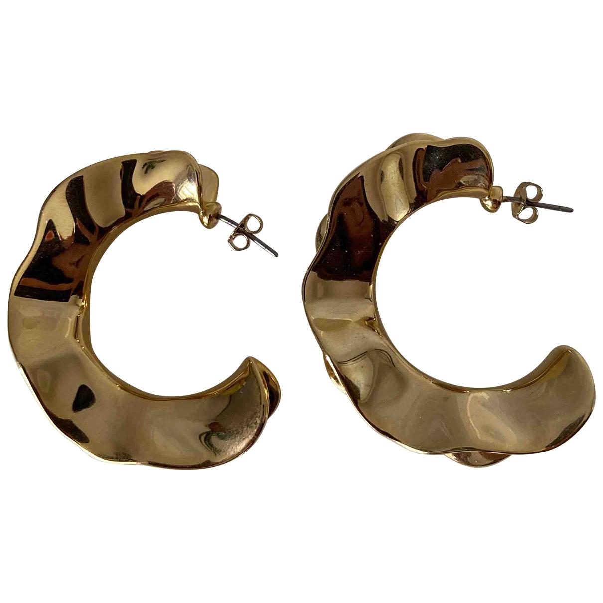 & Stories \N Gold Metal Earrings for Women \N