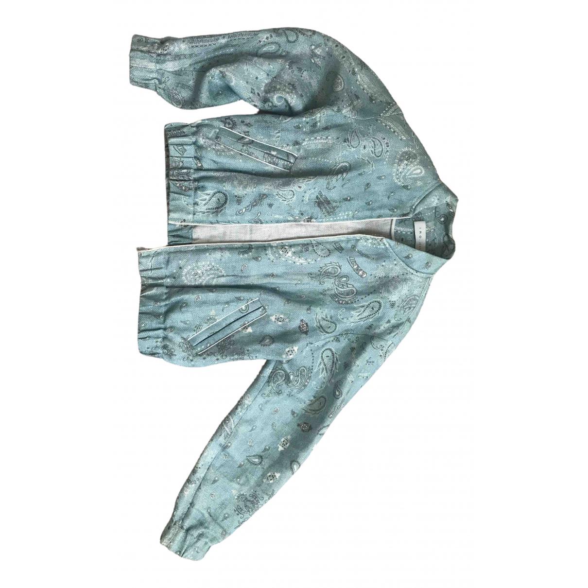Iro - Veste   pour femme en lin - bleu