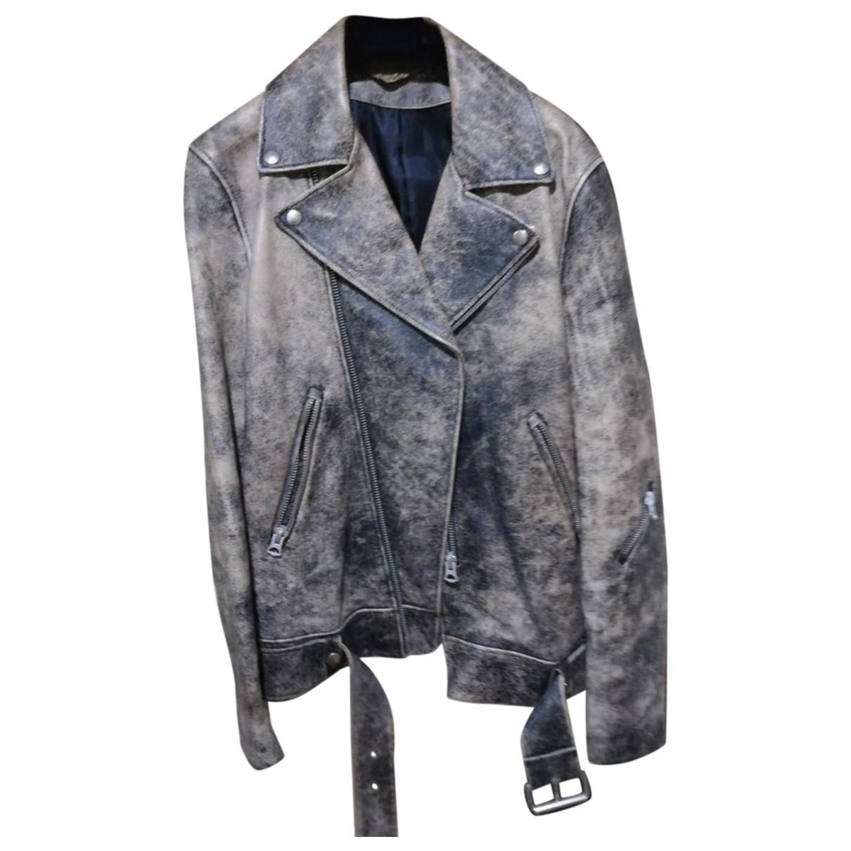 Acne Studios \N Brown Leather jacket  for Men 46 IT