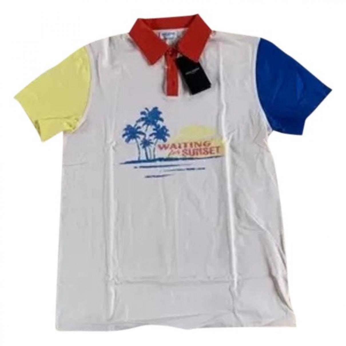 Saint Laurent - Polos   pour homme en coton - multicolore