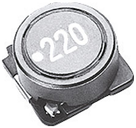 TDK Shielded Wire-wound SMD Inductor 1 mH ±20% Wire-Wound 320mA Idc (5)
