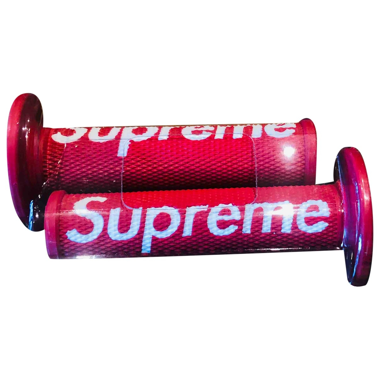 Supreme \N Red Cycling for Life & Living \N