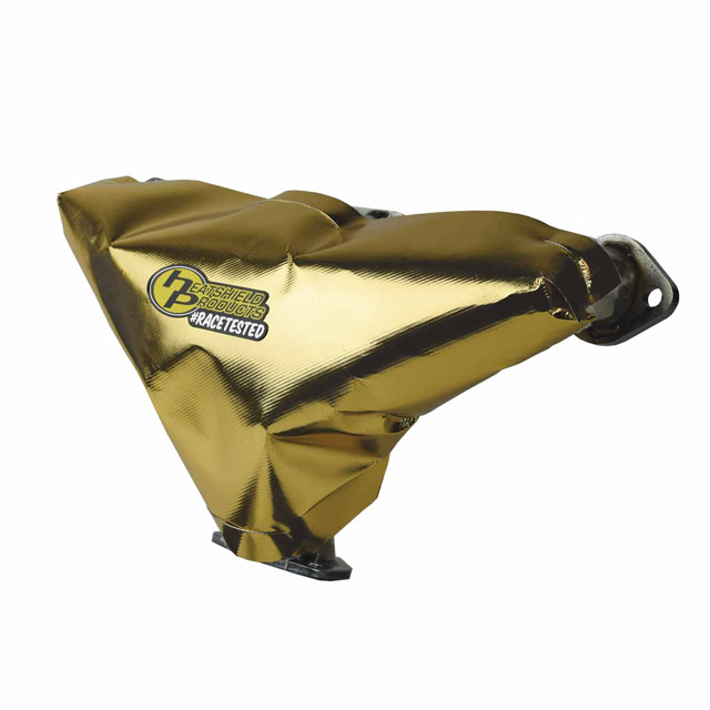 Heatshield Products Gold Exhaust Header Heat Shield Header Armor 1/4 Inch Thick 18 Inch X 24 Inch 2 Pack
