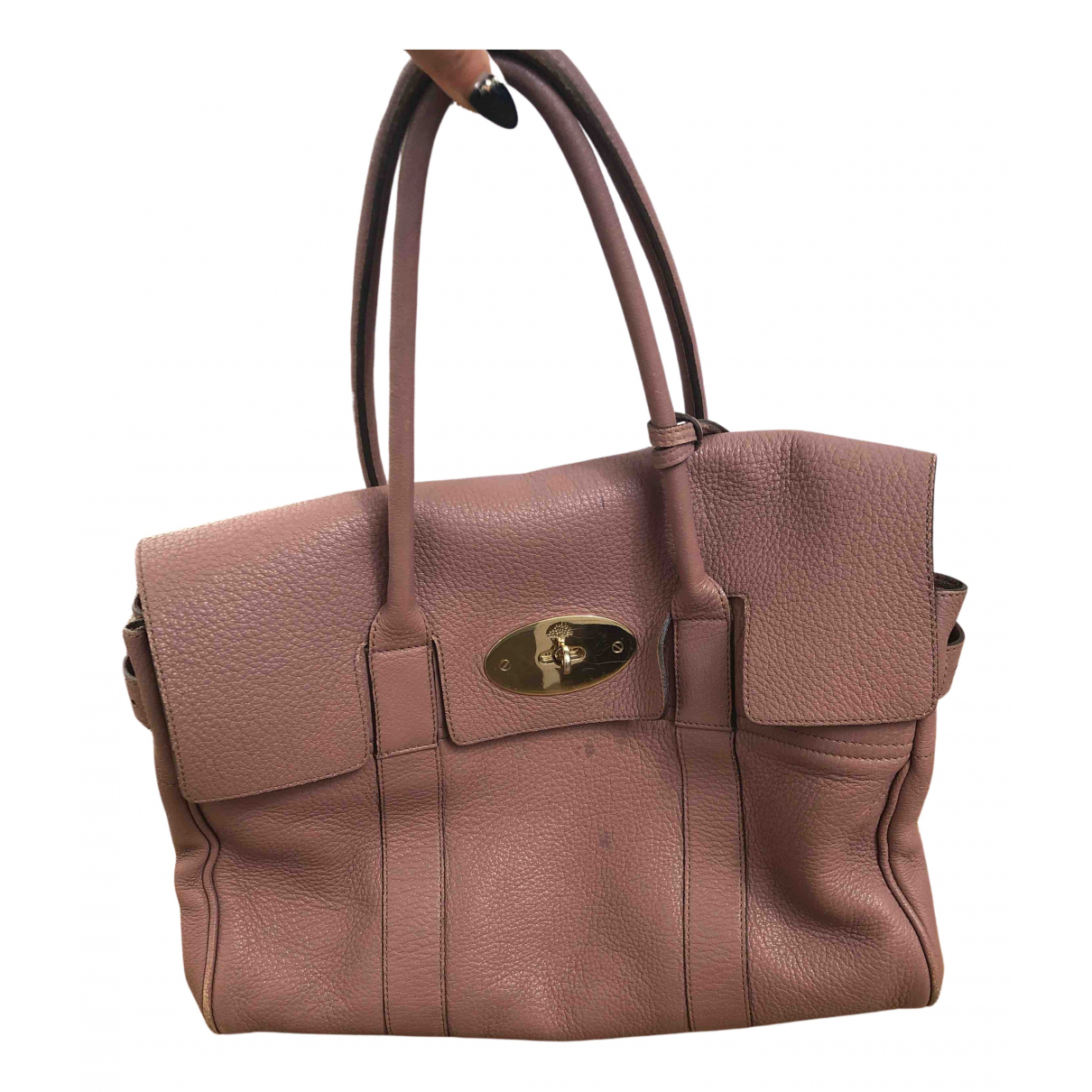 Mulberry N Pink Leather handbag for Women N