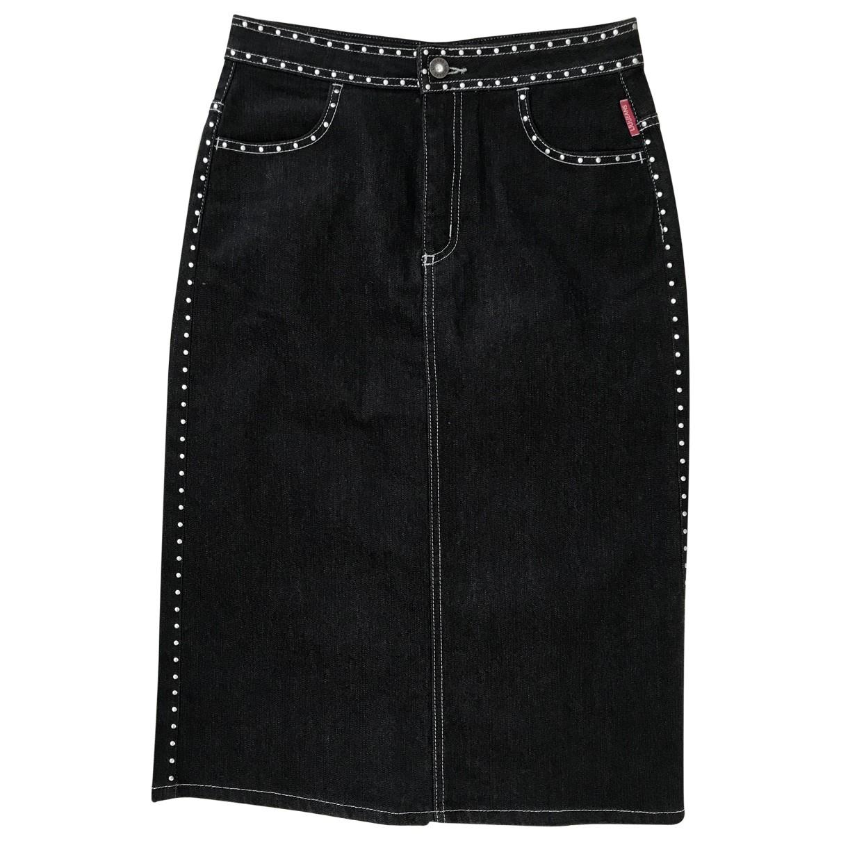 Liu.jo \N Rocke in  Schwarz Denim - Jeans
