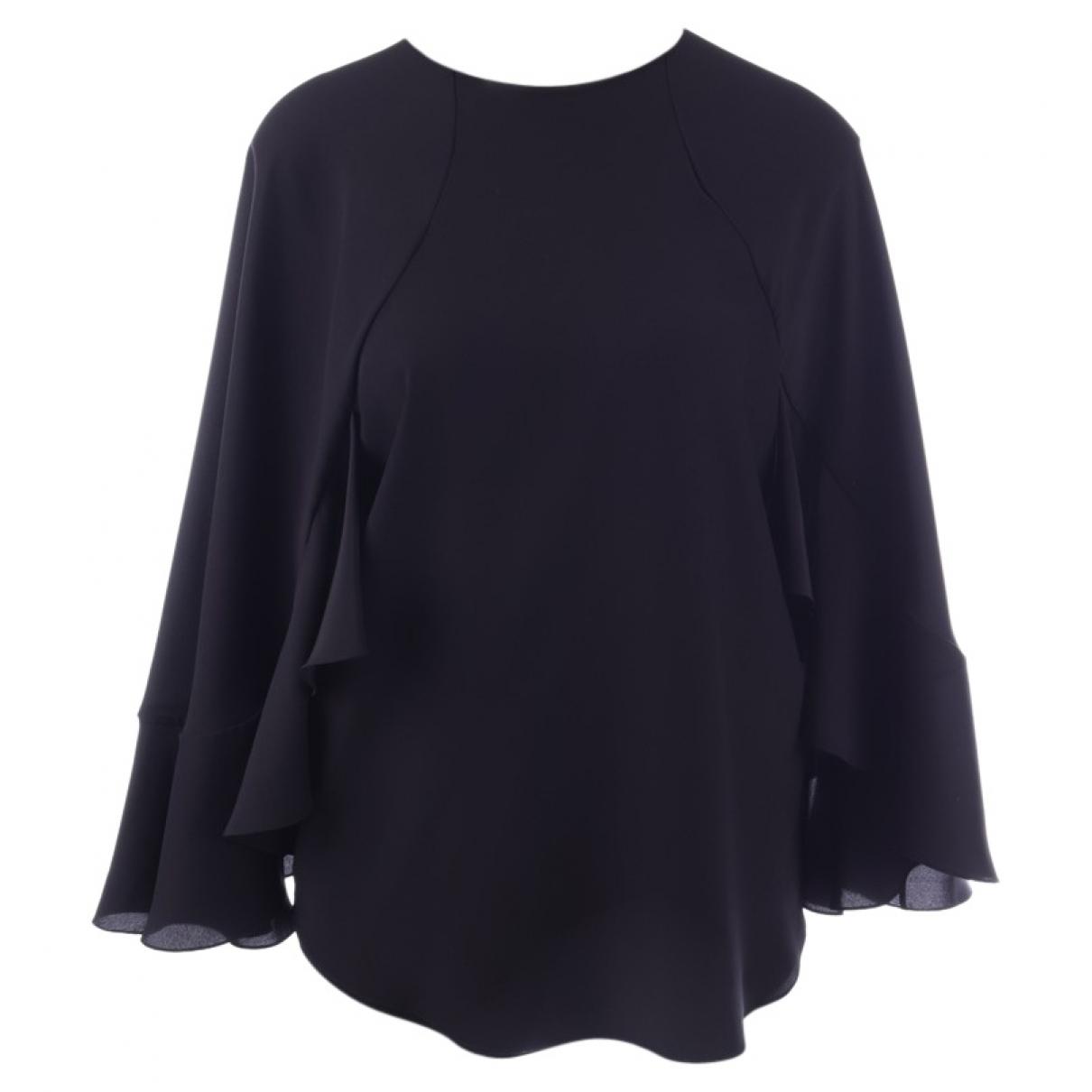 Chloé \N Black Silk  top for Women 36 FR
