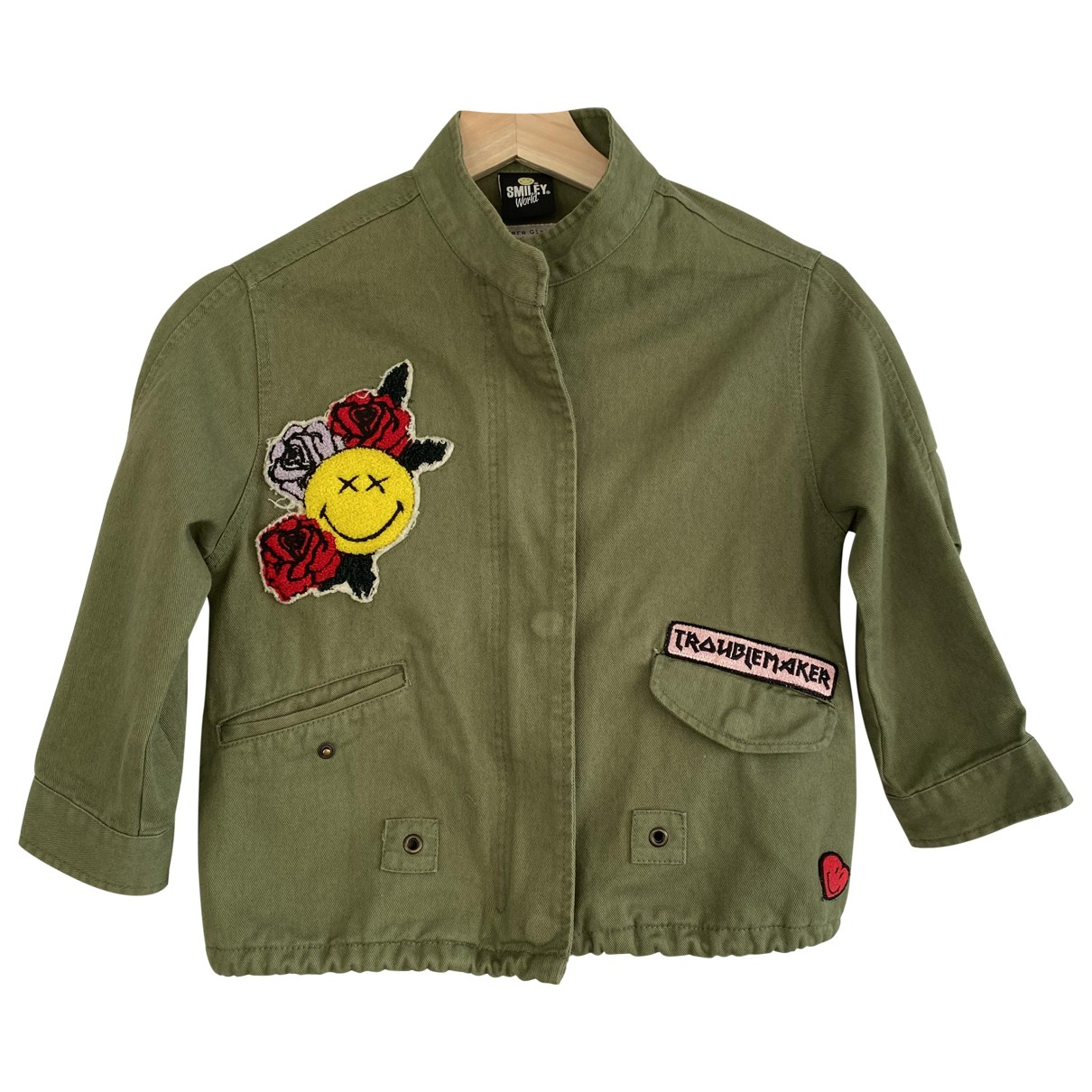 Zara N Khaki Cotton jacket & coat for Kids 6 years - until 45 inches UK