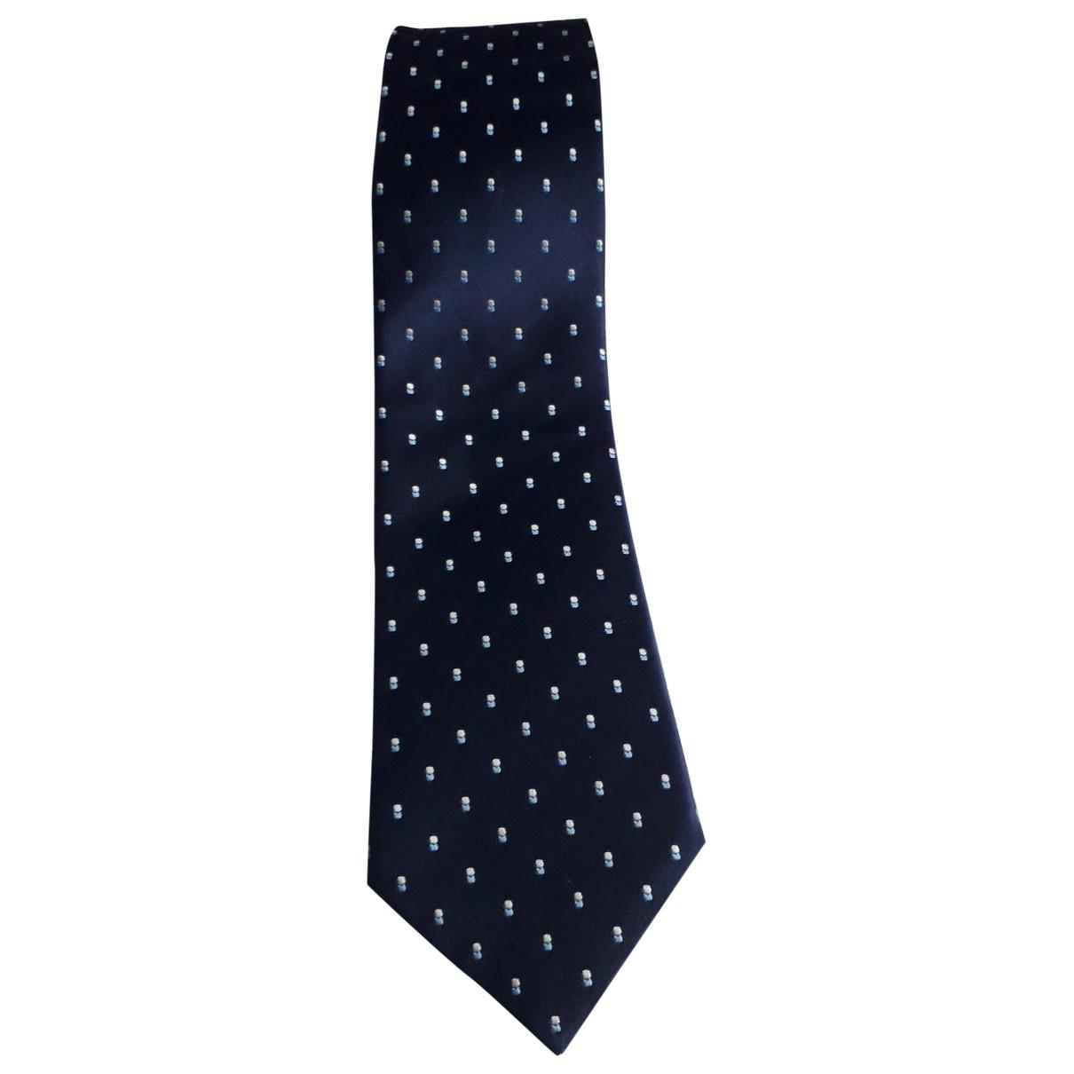Louis Vuitton - Cravates   pour homme en soie - marine