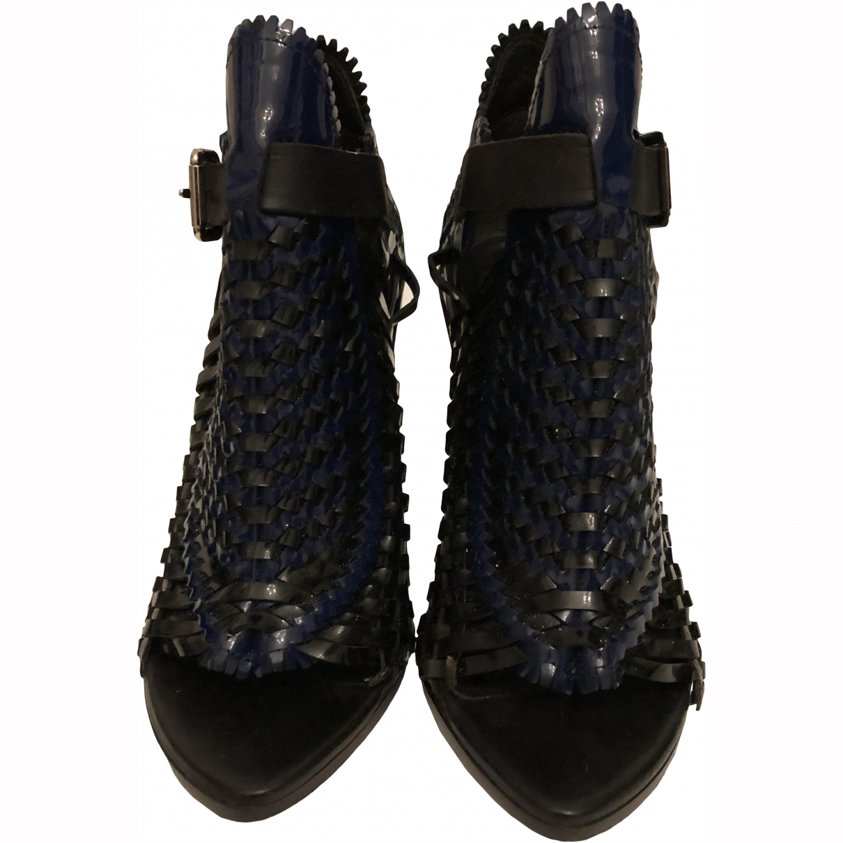 Proenza Schouler \N Black Patent leather Ankle boots for Women 39.5 EU