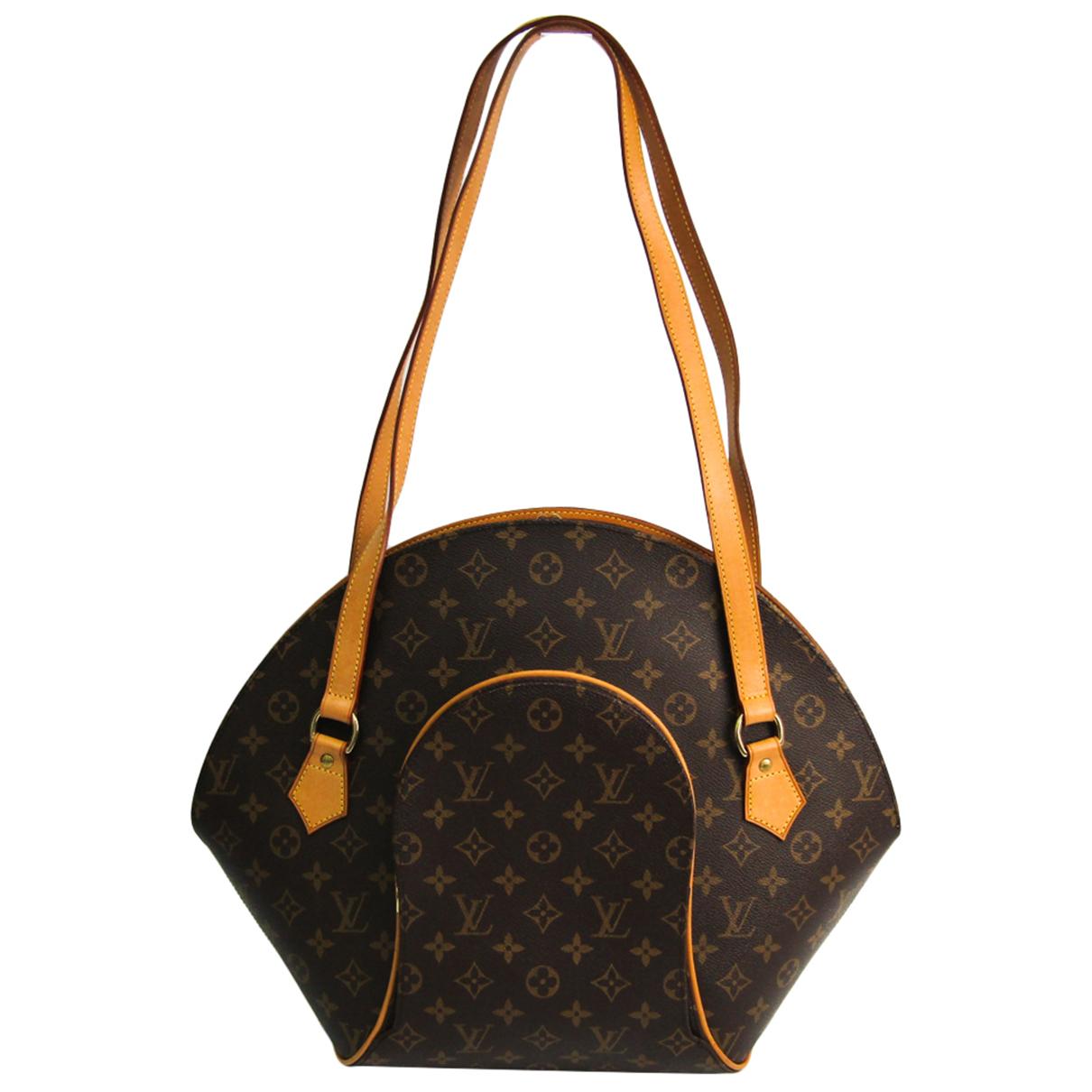 Louis Vuitton Ellipse Brown Cloth handbag for Women N