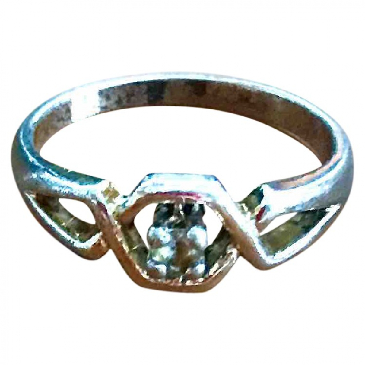 Non Signé / Unsigned \N Multicolour Metal ring for Women \N