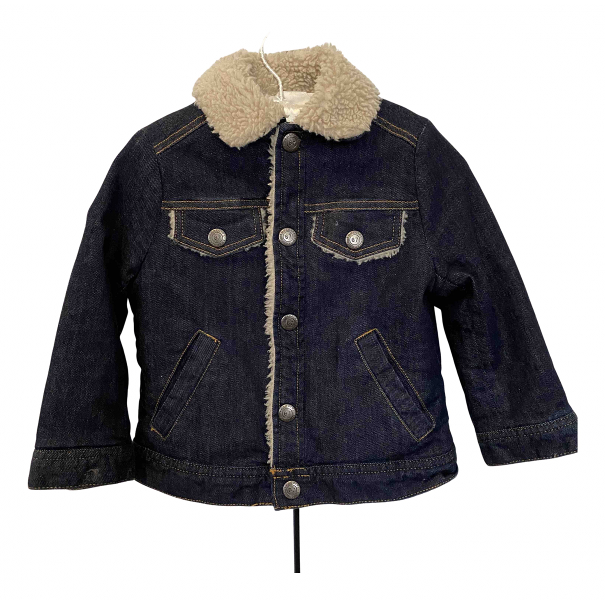 Bonpoint \N Jacke, Maentel in  Marine Denim - Jeans