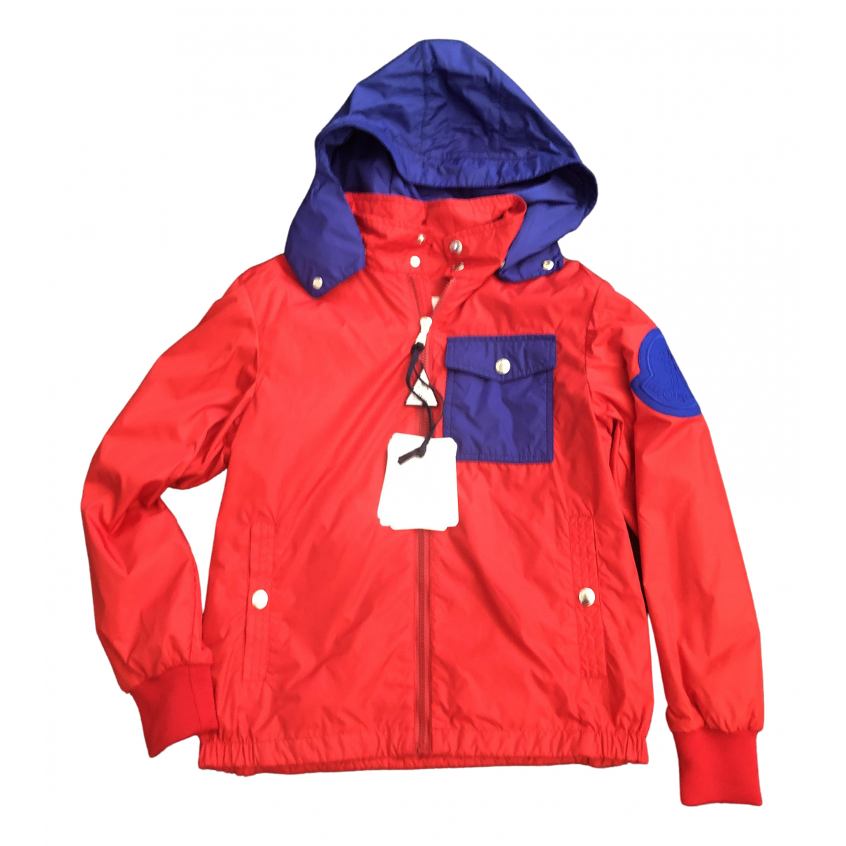 Moncler Classic Red jacket & coat for Kids 12 years - XS UK