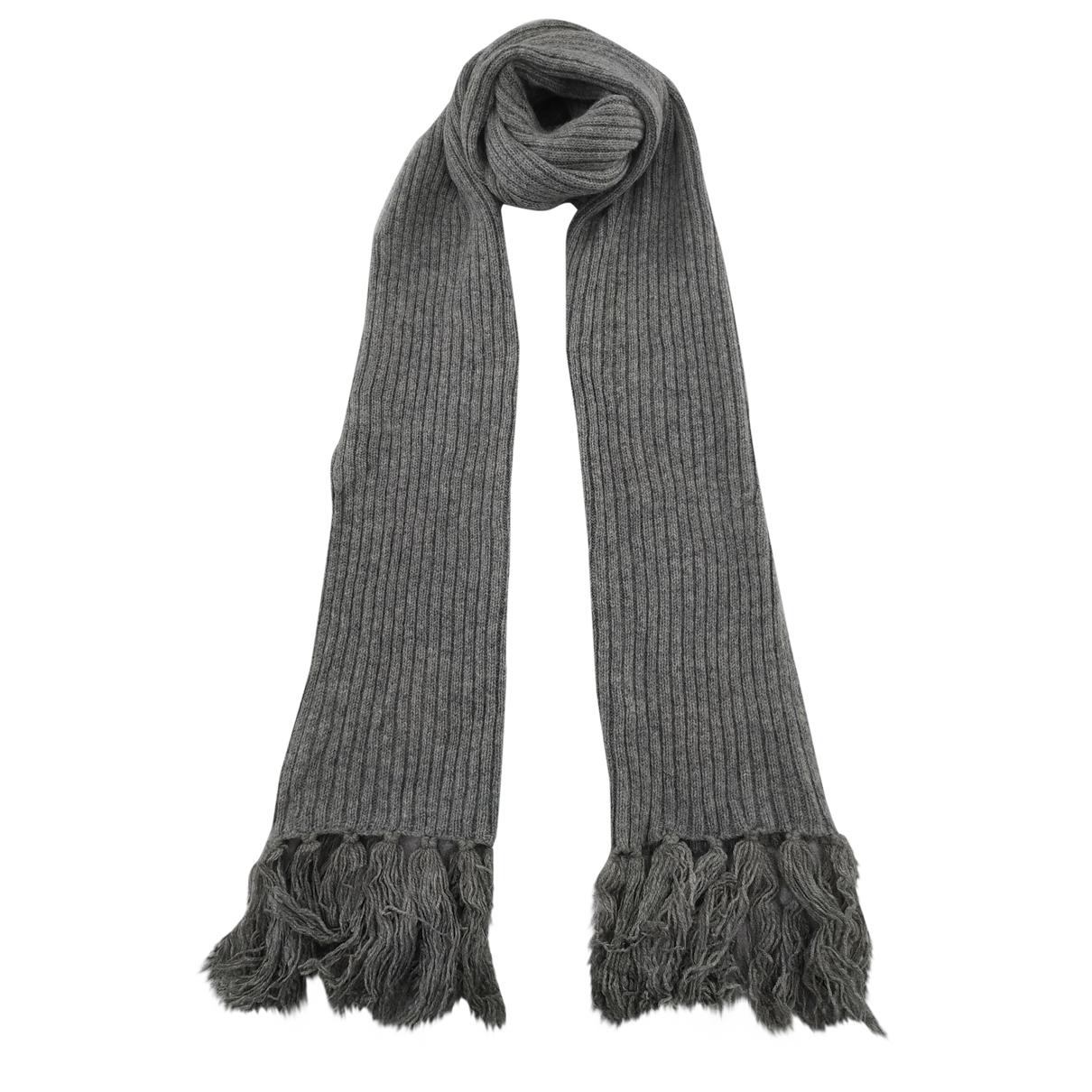 Apc \N Schal in  Grau Wolle