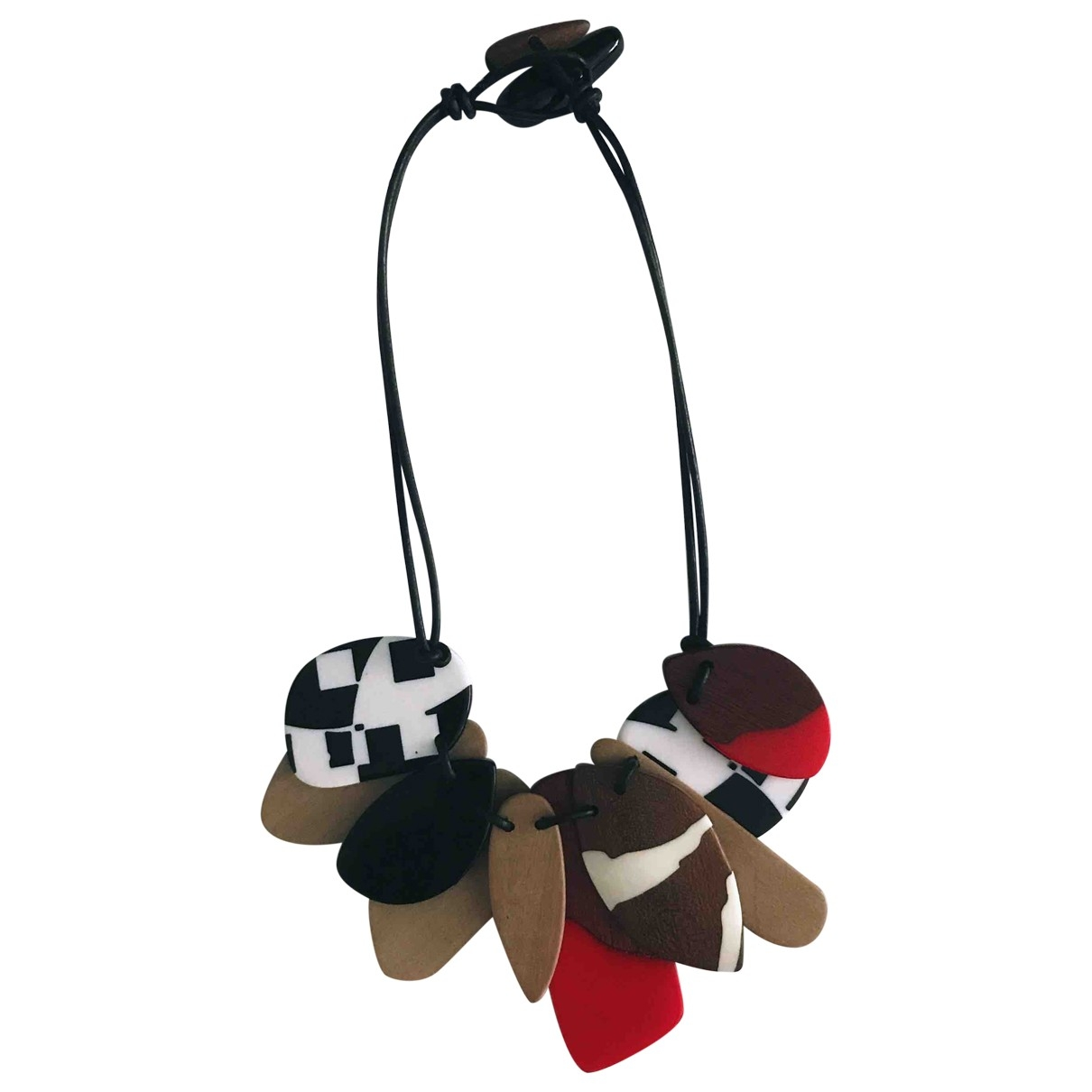 Bimba Y Lola \N Multicolour Wood necklace for Women \N
