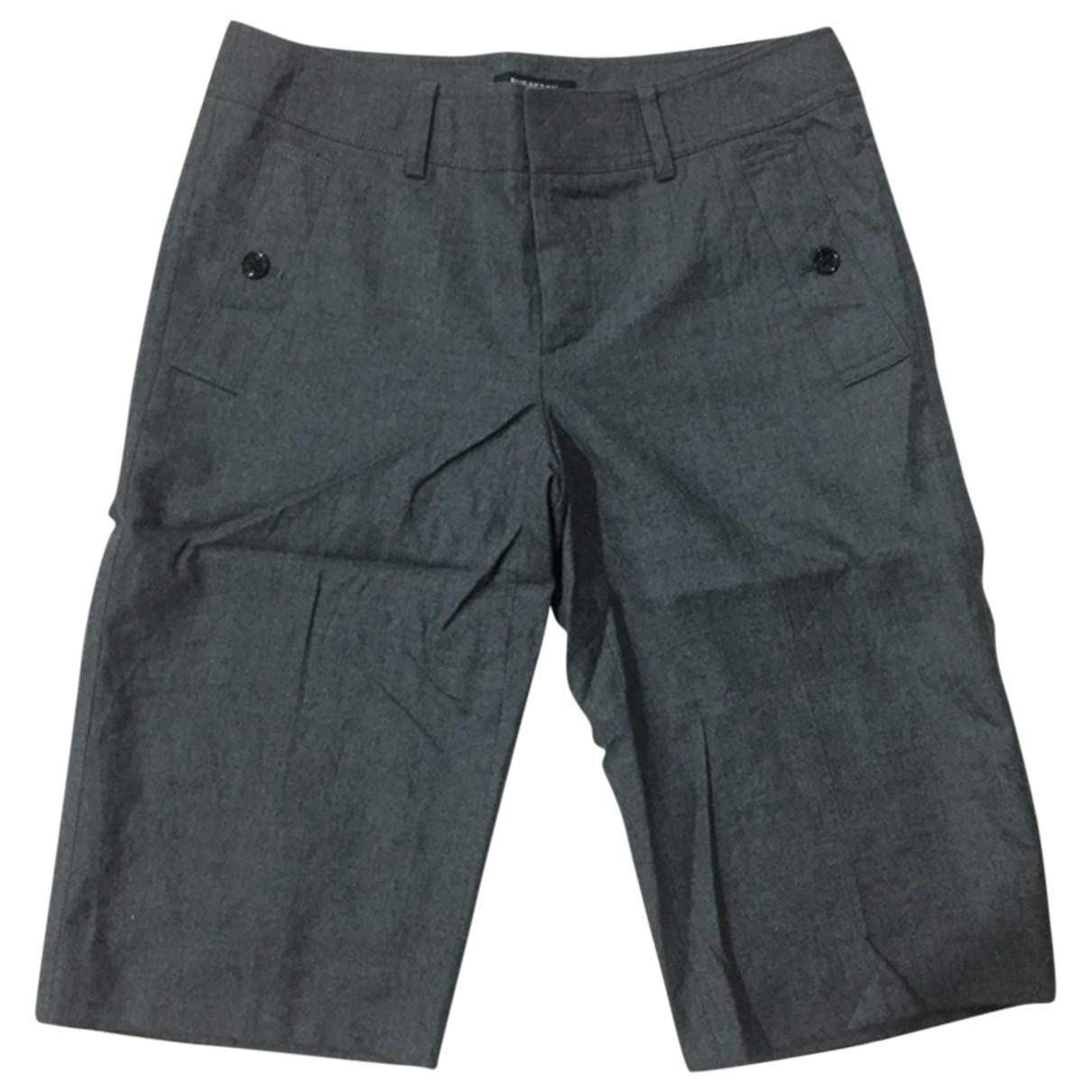 Burberry \N Shorts in  Grau Baumwolle