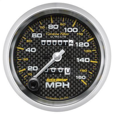 Auto Meter Carbon Fiber Mechanical Speedometer - AMG4793