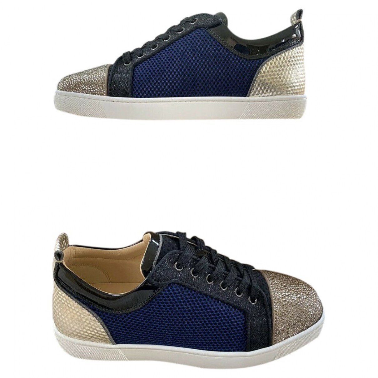Christian Louboutin \N Multicolour Leather Trainers for Men 44.5 EU