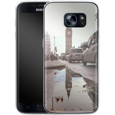 Samsung Galaxy S7 Silikon Handyhuelle - Double Ben von Ronya Galka
