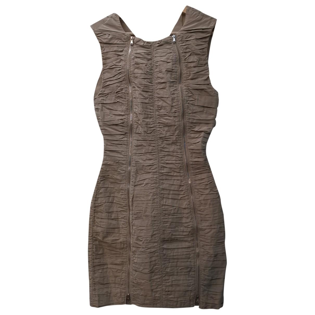 Carven \N Kleid in  Beige Polyester