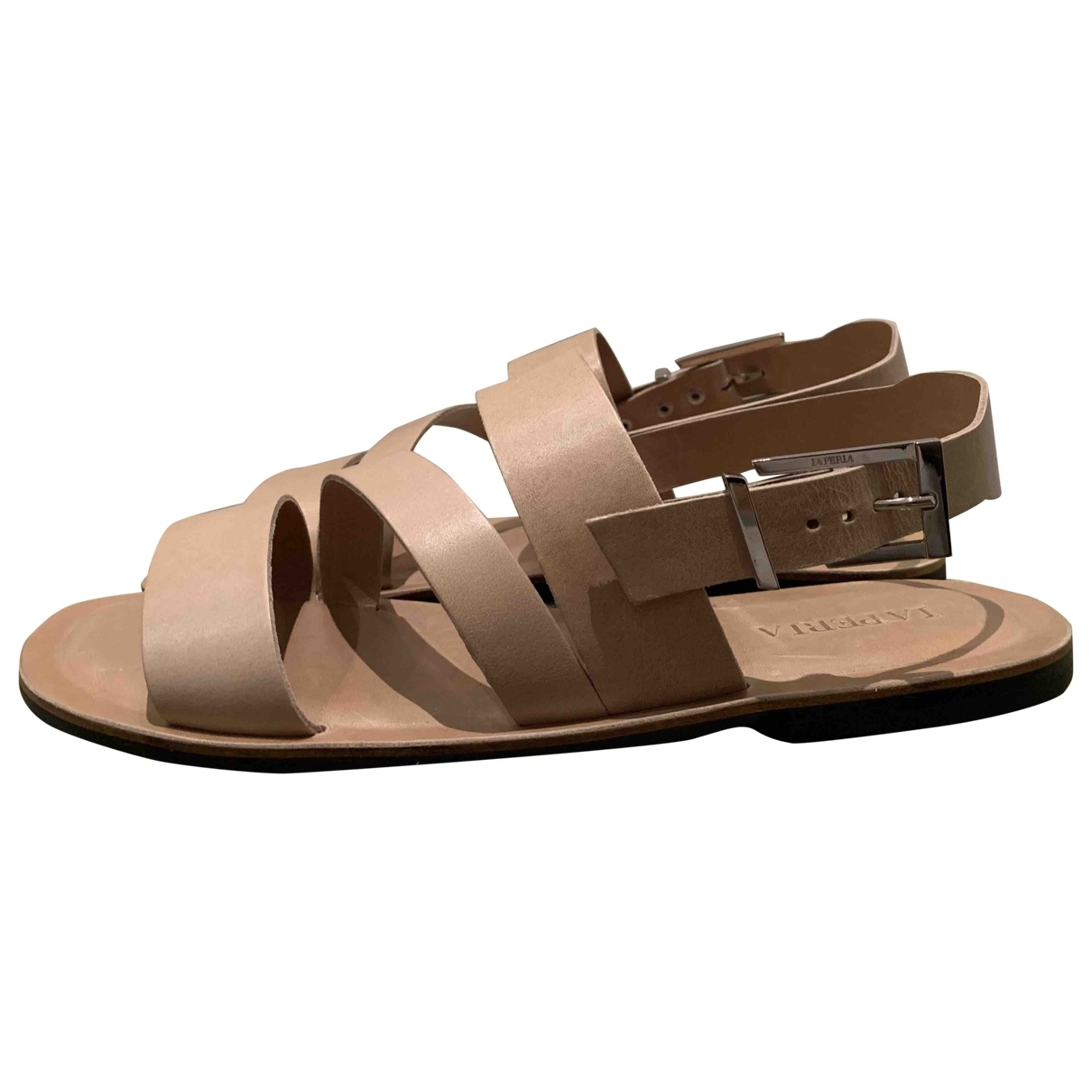 La Perla \N Beige Leather Sandals for Men 44 EU
