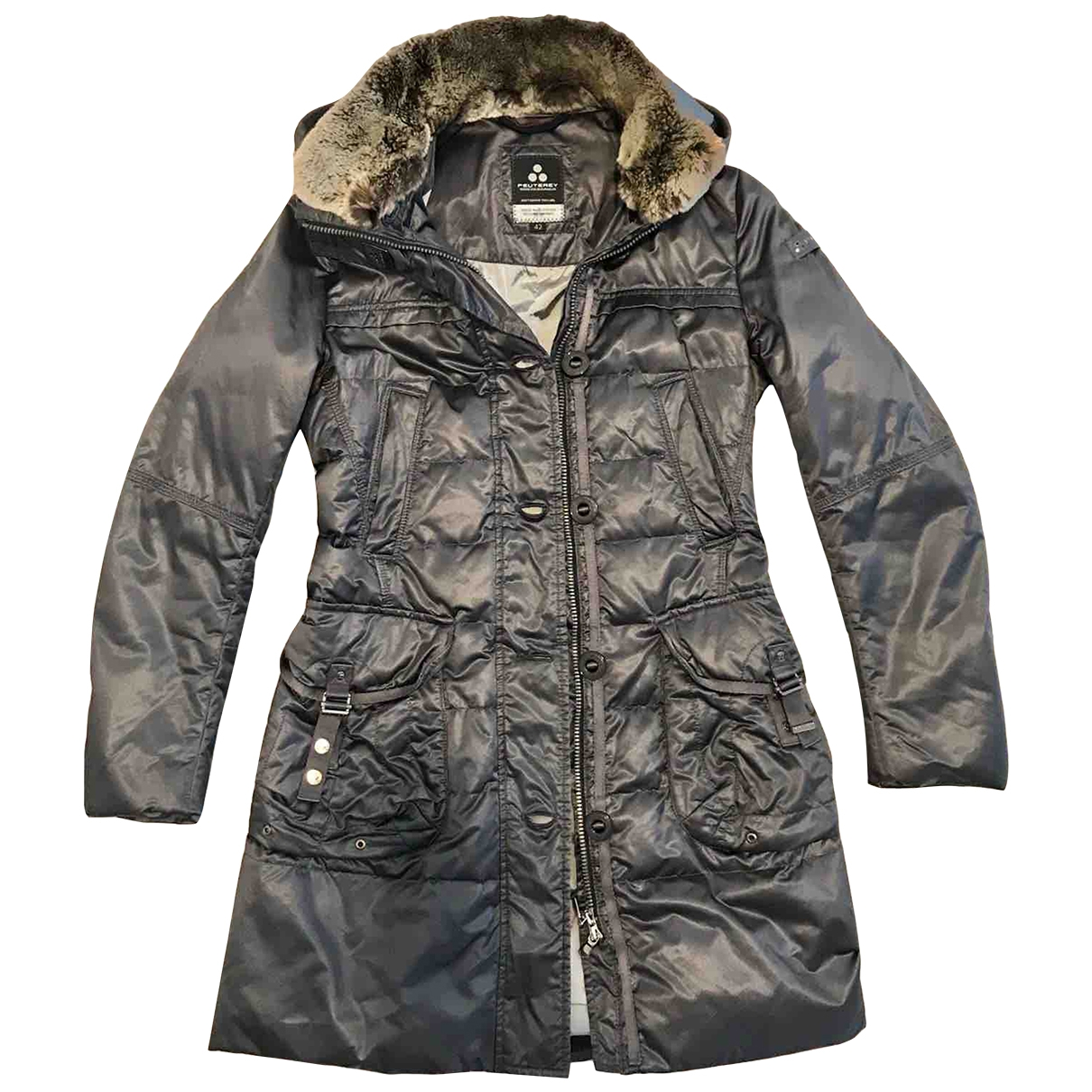 Peuterey \N Anthracite jacket for Women 42 IT