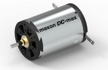 Maxon Brushed DC Motor, 10.4 W, 12 V, 12.5 mNm, 5260 RPM, 7140 RPM, 2mm Shaft Diameter