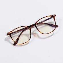 Tortoiseshell Frame Glasses