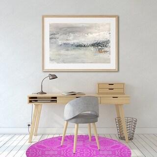 LASHA OVERDYE Office Mat By Kavka Designs (Pink)