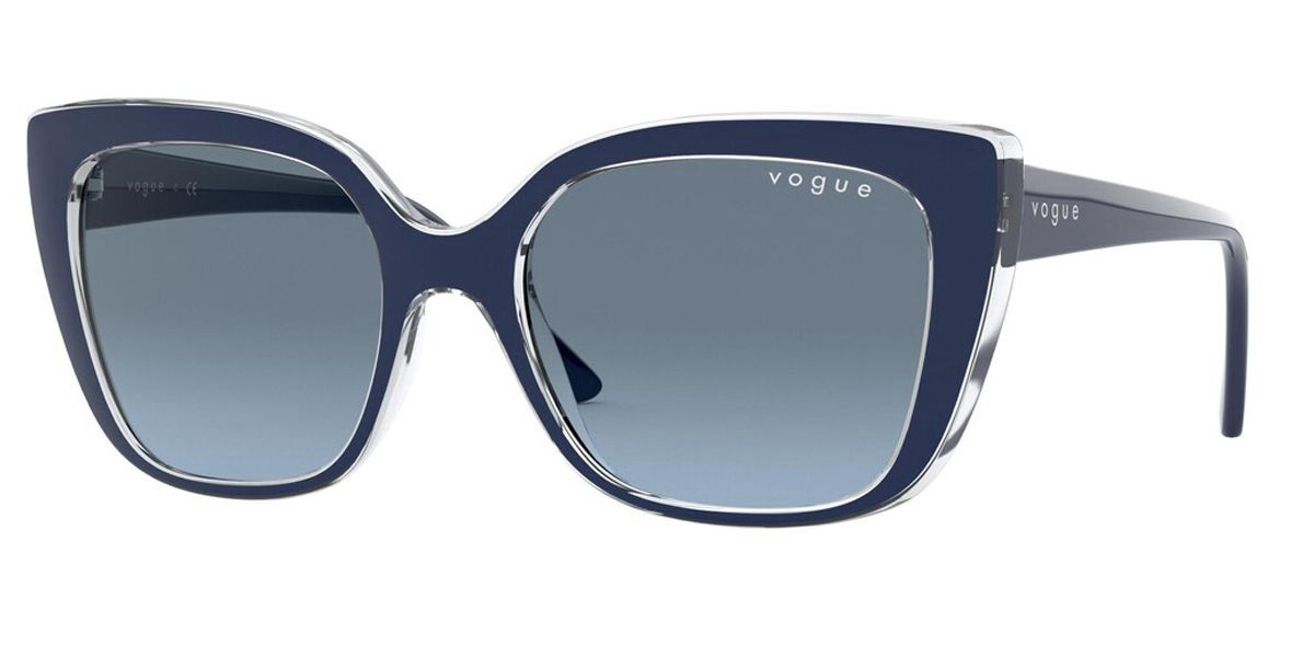 Vogue Eyewear VO5337S 2841V1 Women's Sunglasses Blue Size 53