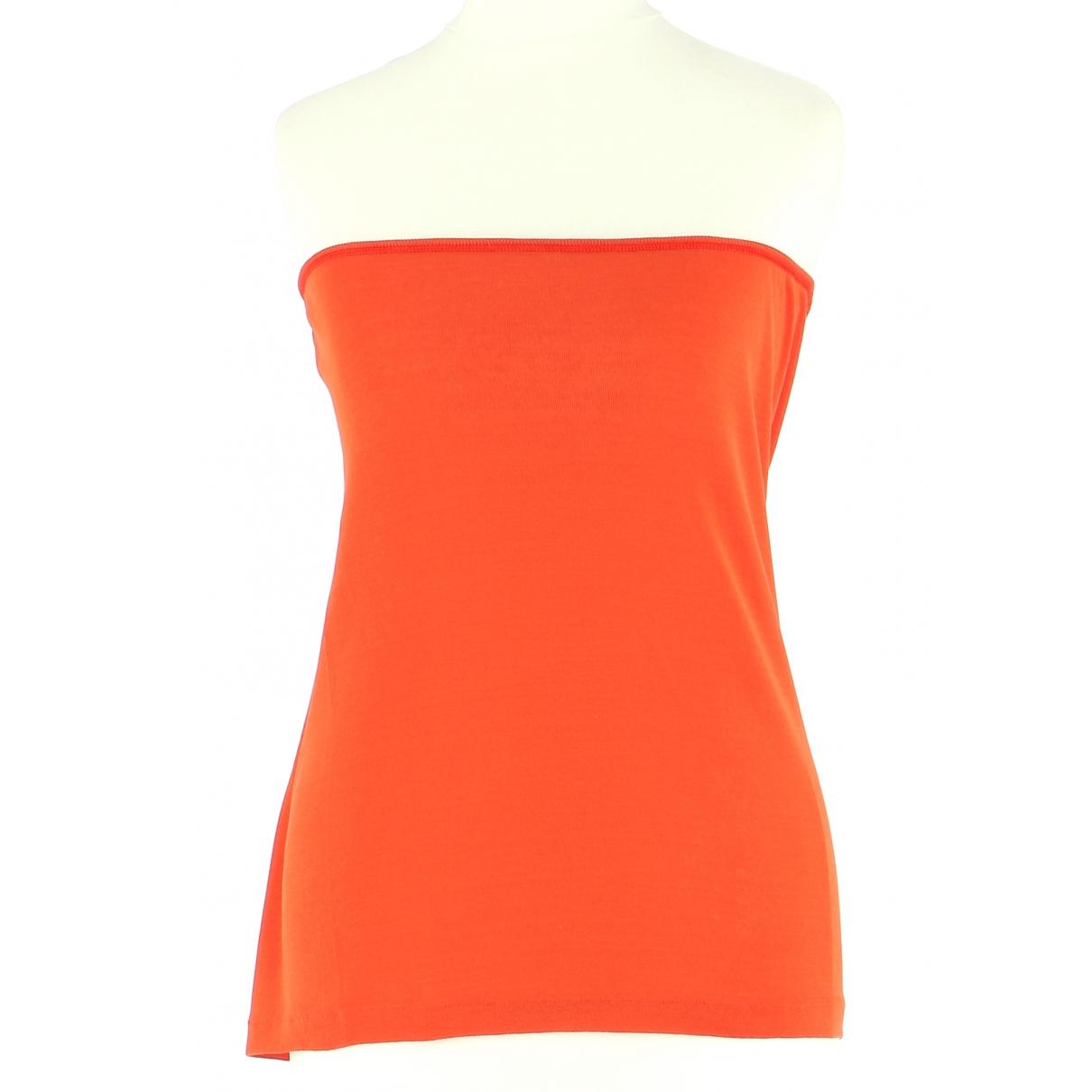 Vanessa Bruno \N Orange Cotton  top for Women 40 FR