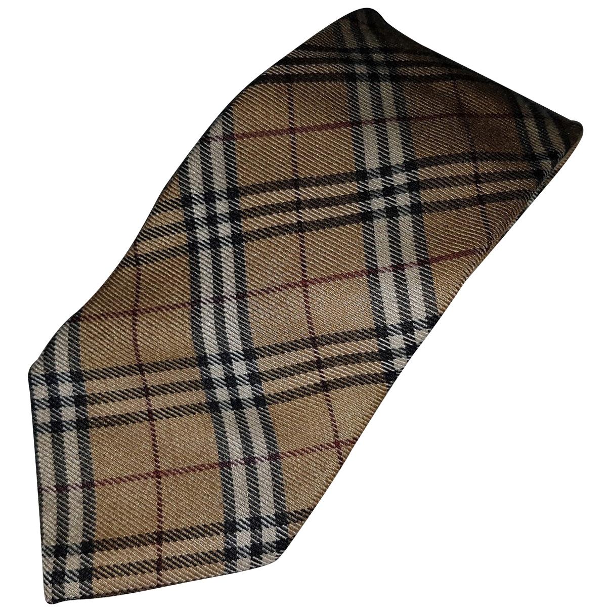 Corbata de Lana Burberry