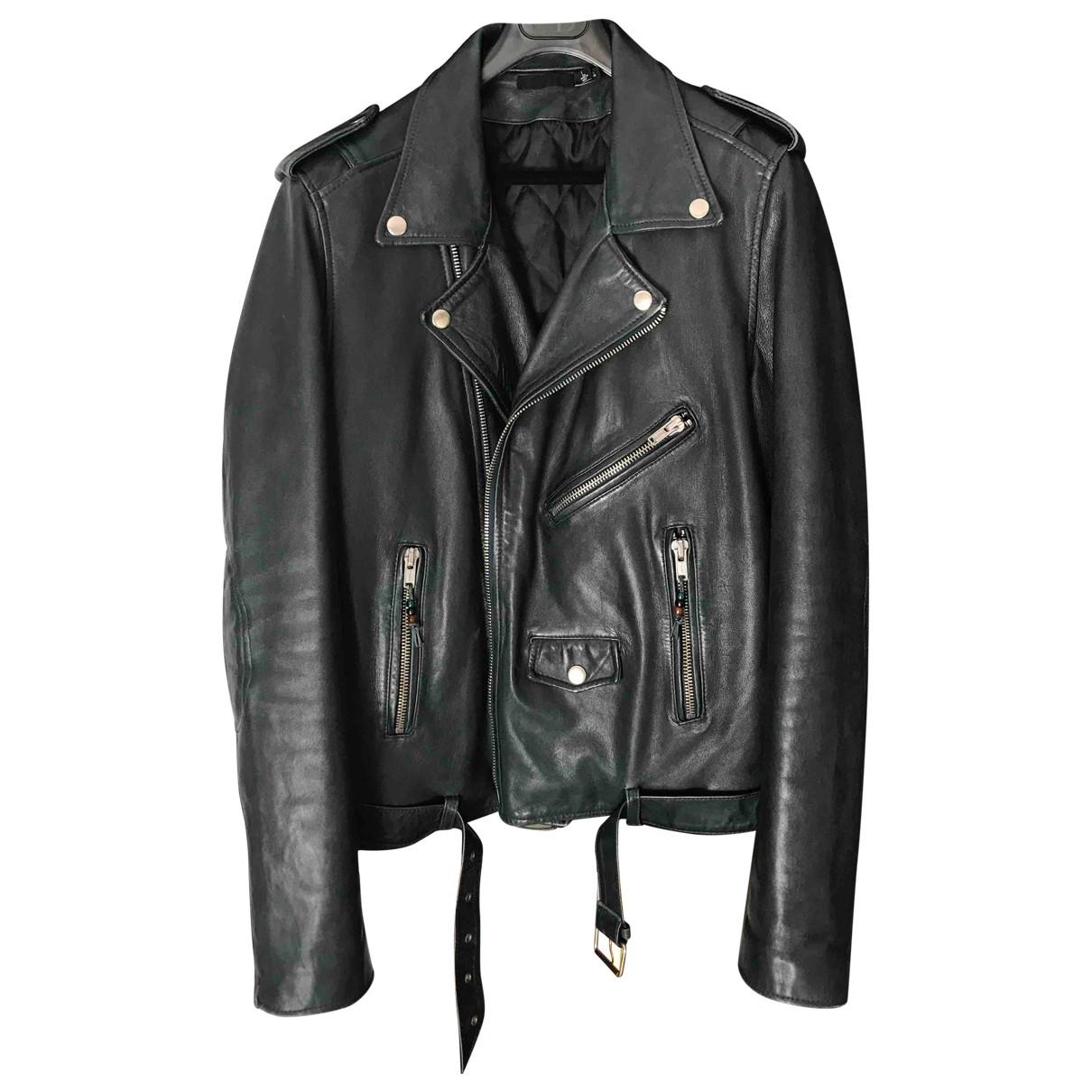 Blk Dnm \N Leather jacket  for Men L International