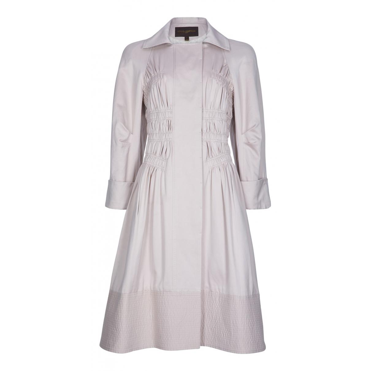 Louis Vuitton - Manteau   pour femme en coton - rose