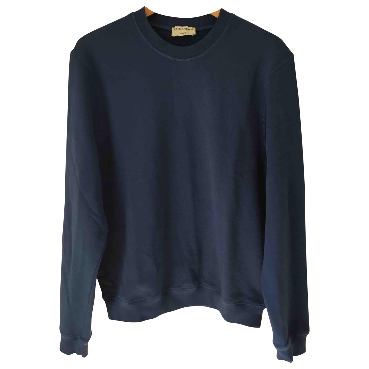 Editions M.r \N Navy Cotton Knitwear & Sweatshirts for Men L International