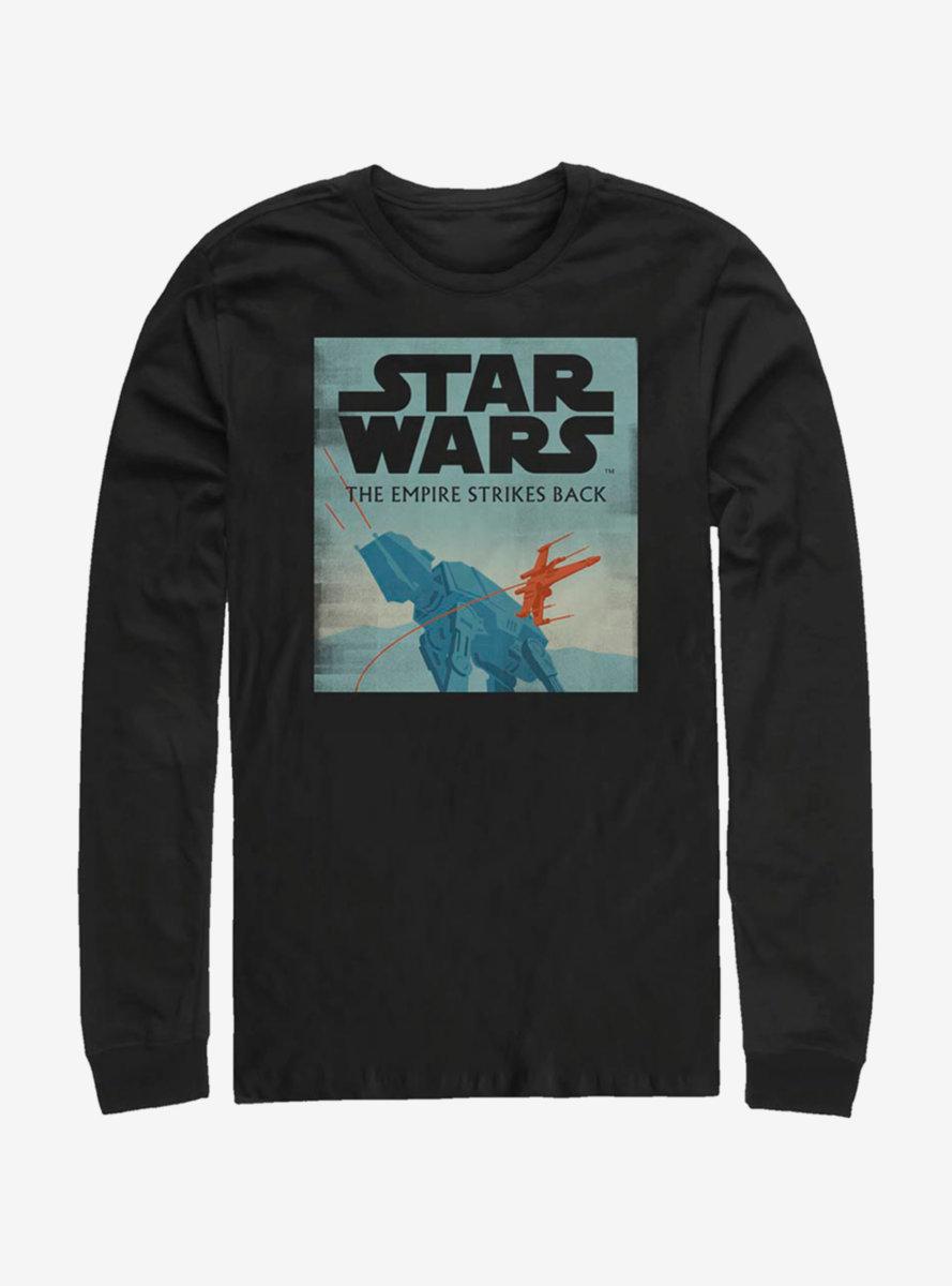 Star Wars Empire Minimalist Long-Sleeve T-Shirt