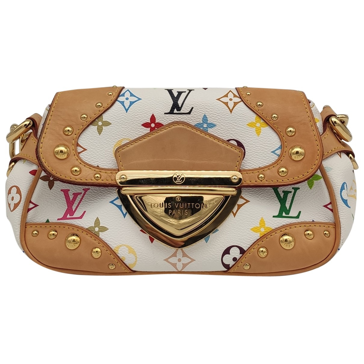 Louis Vuitton Marilyn White Cloth handbag for Women N