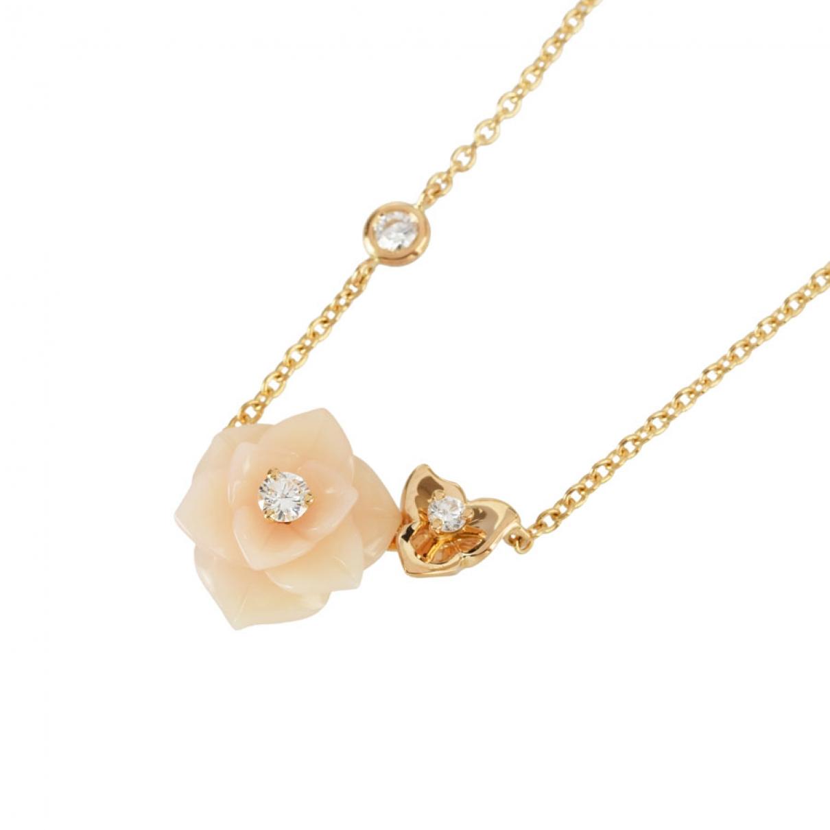 Piaget - Collier   pour femme en or rose - rose